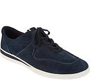 ED Ellen DeGeneres Suede Lace-up Sneakers - Akemi - A296998