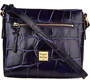 Dooney & Bourke Croco Embossed Leather Crossbody Allison - A300498