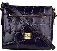 Dooney & Bourke Croco Embossed Leather Crossbody Allison - A300498