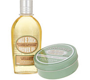 LOccitane Almond Shower Oil & Balm Duo - A311598