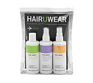 Hairuwear 3-Piece Essential Care Kit for Wigs and Extensions - A321998