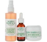 Martha Stewart & Mario Badescu Hydrate & Glow Rose Trio - A343698