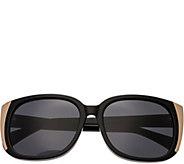 Bertha Natalia Black Sunglasses w/ Polarized Lenses - A361198