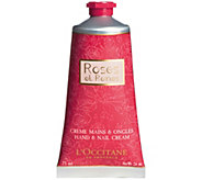 LOccitane Roses et Reines Hand and Nail Cream,2.5 oz - A362898