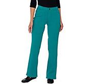 Denim & Co. How Comfy Regular Boot Cut Knit Jeans - A220699