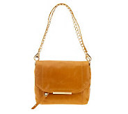 B.Makowsky Jynx Glazed Leather Shoulder Bag - A236099