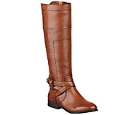 Marc Fisher Leather Riding Boots - Anlosa - A260599