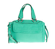As Is Aimee Kestenberg Leather Large Halley Satchel - A263399