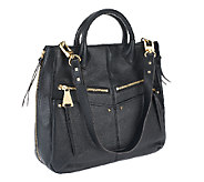 As Is Aimee Kestenberg Leather Nikki Convertible Shopper - A264899