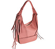 As Is orYANY Soft Nappa Leather Hobo - Michelle - A278399