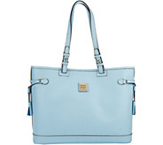 Dooney & Bourke Saffiano Leather Double Strap Tassel Bag - A278599