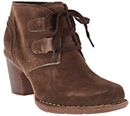 As Is Clarks Artisan Leather Lace-up Boots - Carleta Lyon - A289499