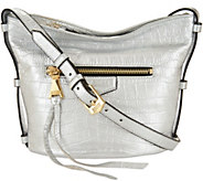 Aimee Kestenberg Pebble Leather Crossbody Handbag- Liza - A292599