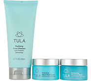 TULA Probiotic Skin Care 3-Piece Hydrate & Exfoliate Set - A294599