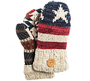 MUK LUKS Womens Americana Mittens - A337599