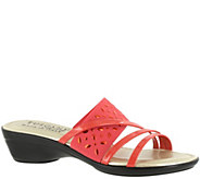 Tuscany by Easy Street Wedge Slide Sandals - Atessa - A338999