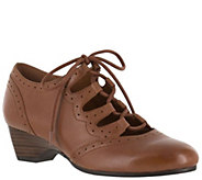 Bella Vita Ghillie Lace-up Shoes - Posie - A340999