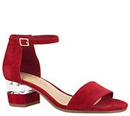 Bella Vita Leather Sandals - Fitz - A363399