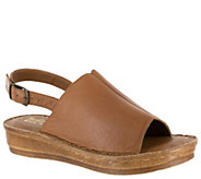 Bella Vita Leather Sandals - Wit-Italy - A363599