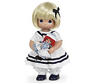 Precious Moments 12&quot Marcella, The Story of Raggedy Ann Doll - C211601