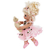 Precious Moments Dance with Me Blonde 9&quot VinylDoll - C213307