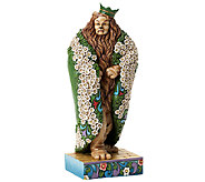 Jim Shore Heartwood Creek Cowardly Lion as KingFigurine - C214007