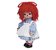 Precious Moment Timeless Traditions Raggedy Ann Doll - C210808
