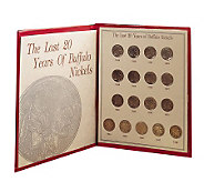 Last Twenty Years of Buffalo Nickels - C211611