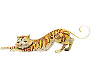 Jim Shore Heartwood Creek Stretching Tabby CatFigurine - C214011