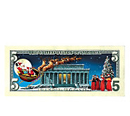 Jingle Bucks Colorized $5 Bill - C213415