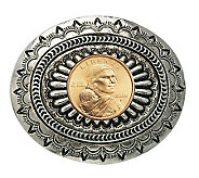 Sacagawea Golden Dollar Belt Buckle - C213717