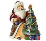 Jim Shore Heartwood Creek Santa Decorating Tree - C214117