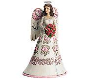 Jim Shore Heartwood Creek Anniversary Angel Figurine - C214019