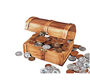 Historic Wooden Treasure Chest - C211621