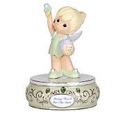 Precious Moments Disney Tinker Bell Musical Figurine - C212923