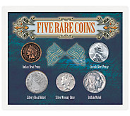 Five Rare Coins Collection in Sealed Case - C214023
