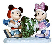 Precious Moments Disney Mickey & Minnie Christmas Tree - C213929