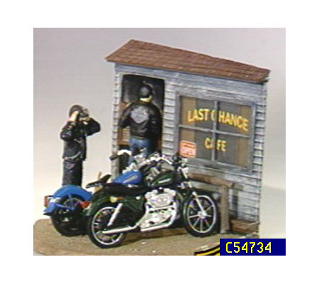 "Harley-Davidson 1:16 Scale ""Last Chance Cafe"" by Ertl"