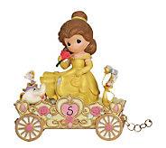 Precious Moments Disney Birthday Parade Belle Age 5 - C212935
