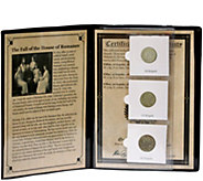 The Fall of the House of Romanov Silver Coin Collection - C214237