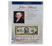 US Presidents Colorized $2 Bill Series - C27838