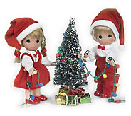 Precious Moments 7 You Light Up My Life Doll Set - C212241