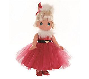 Precious Moments Santa Baby Doll