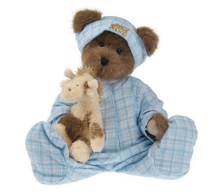 Boyds Newborn Baby Bear With Adoption Certificate C7842
