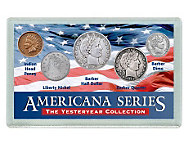 Americana Yesteryear Coin Set - C212143