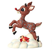 Jim Shore Rudolph Traditions Flying Rudolph Figurine - C214243