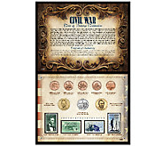 Civil War Coin and Stamp Collection - C214045