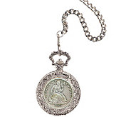 Seated Liberty Silver Half-Dollar Pocket Watch - C213747