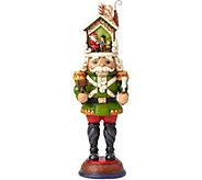 Jim Shore Heartwood Creek Toy Soldier with Santa Figurine - C214249