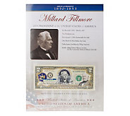 US Presidents Colorized_$2 Bill Series Fillmore - C27852